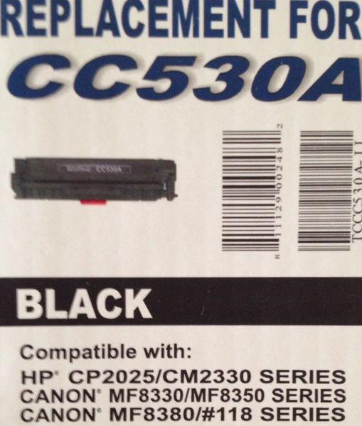HP CC530A (304A) Black Toner Cartridge