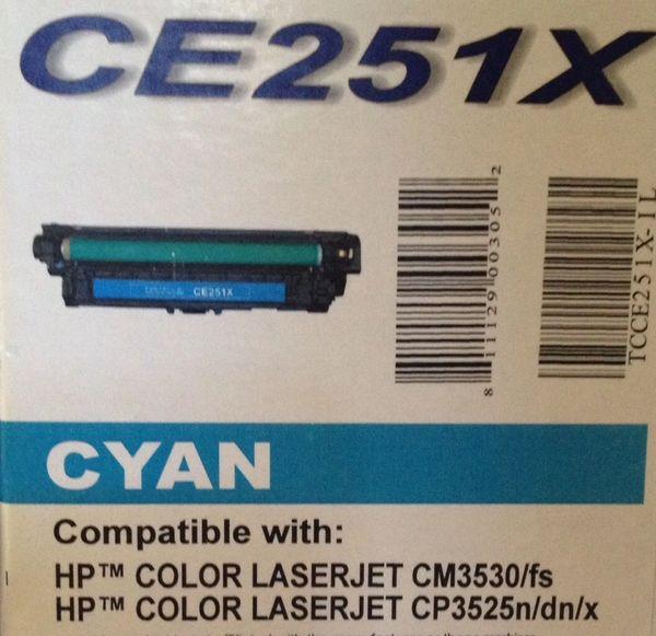 HP CE251X Cyan