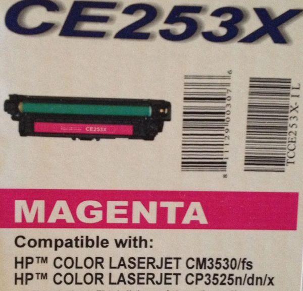 HP CE253X Magenta