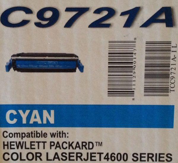 HP C9721A Cyan