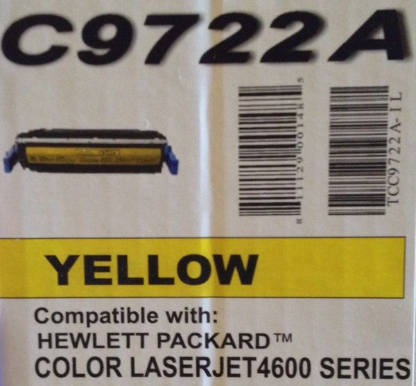 HP C9722A Yellow