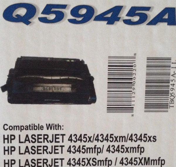HP Q5945A Black