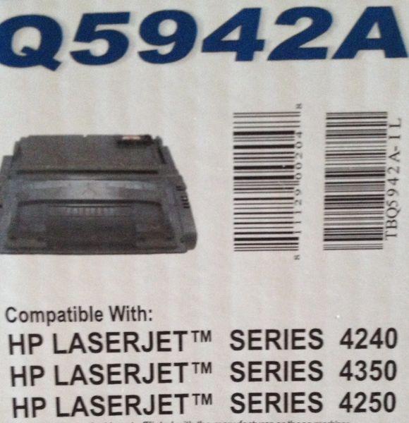 HP Q5942A Black