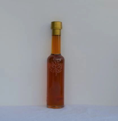 Decorative glass bottle 236 ML ea. , case of (10)