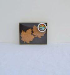 (2) 4 Oz Maple leafs
