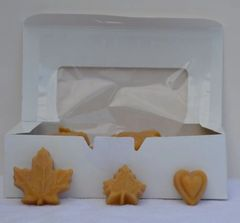 1 Lb Box of Soft Maple Candy