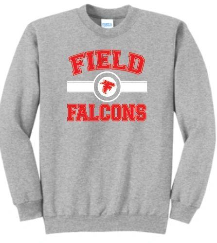 Field FMS Falcons Basic Crew Neck Sweatshirt