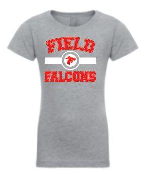 Field FMS Falcons - Girls/Ladies Soft Style T Shirt