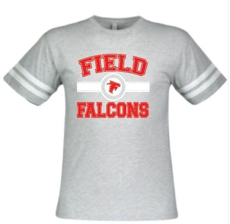 Field FMS Falcons Football T Shirt
