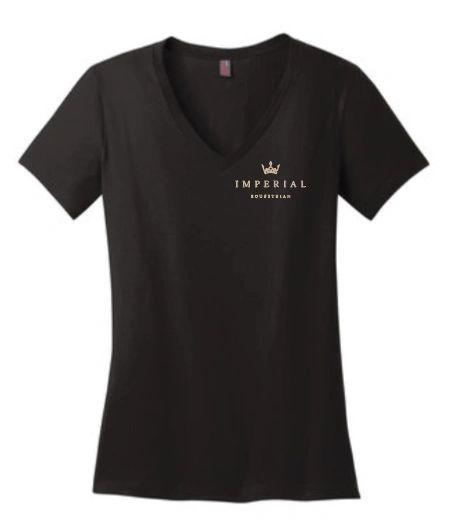 Imperial Equestrian Ladies V Neck T Shirt