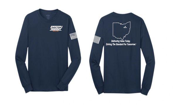 Dayton Freight Basic Long Sleeve T Shirt