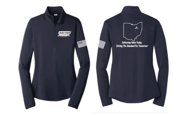 Dayton Freight Dri-Fit 1/4 Zip Pullover