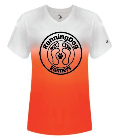 ***NEW***Running Dog Ombre Dri Fit Shirt