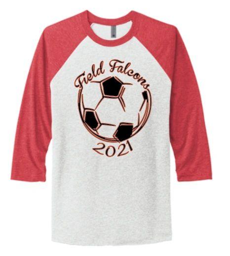 Field Ladies Soccer Baseball T Shirt