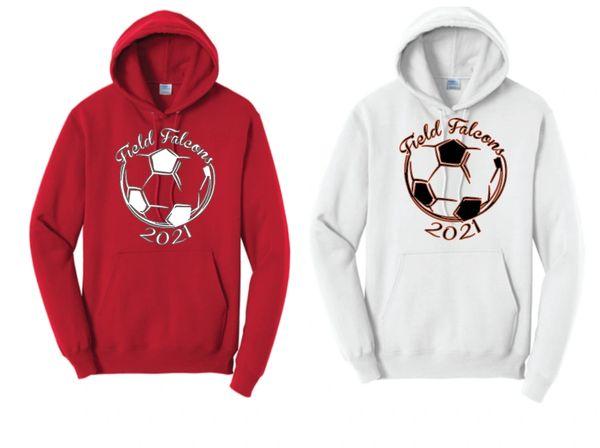 Field Ladies Soccer Hoodie