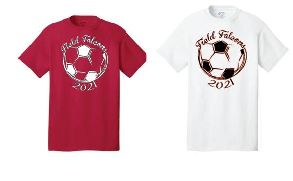 Field Ladies Soccer Basic T Shirt