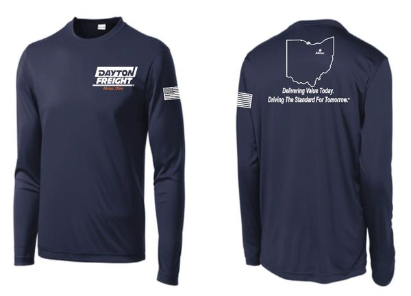 Dayton Freight Dri Fit Long Sleeve T Shirt