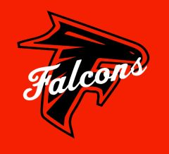 Field Falcon-Script Falcon Logo