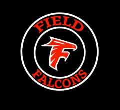 Field Falcons- Circle Logo with Falcon Head
