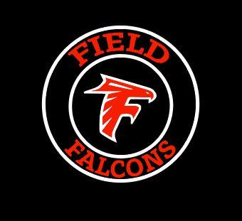 Field Falcons- Circle Logo with Falcon Head