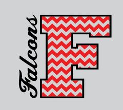 Field Falcons- Chevron F