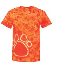 CLEARANCE!!!!! Tie Dye Paw T Shirt