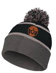 Reflective Beanie with RunningDog Logo