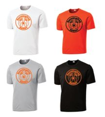Basic Moisture Wicking Short Sleeve Shirt with RunningDog Logo