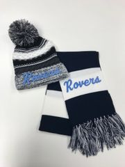 Rootstown SALE- Pom Pom Hat and Scarf Combo Sale!