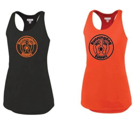Ladies Mesh Back Wicking Tank