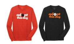 Adopt this Dog! Basic Long Sleeve T Shirt