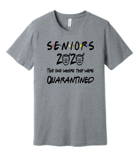 Senior Quarantine Friends Theme