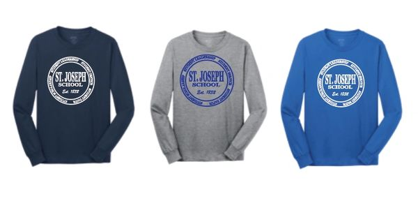 Basic Long Sleeve T Shirt with Your Choice of Logo