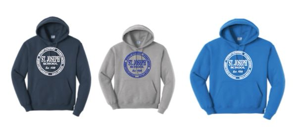 Basic Crewneck or Hoodie with Your Choice of Logo