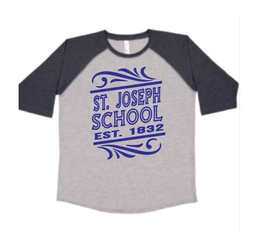 Baseball T Shirt with your choice of Logo