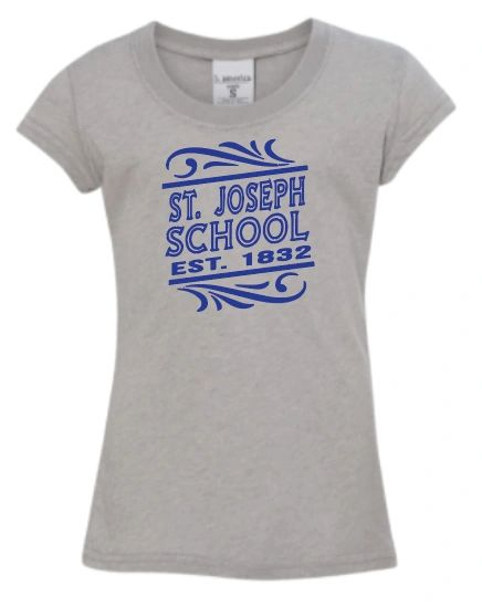 Glitter T Shirt with Glitter Logo