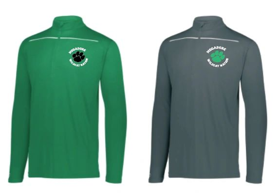 Mogadore Defer 1/2 Zip with Embroidered Logo