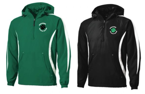 Mogadore Sportek 1/2 Zip Pullover with Embroidered Logo