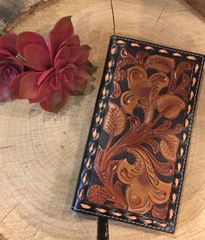 Nocona Black/Tool Rodeo Wallet