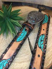 Ariat Ladies Feather Belt