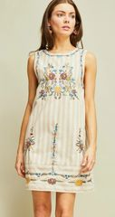 Drew Embroidered Dress