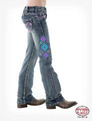 "Cowgirl Tuff ""Girls Aztec"" Jean"