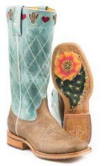 Tin Haul Women's I Heart Cactus Boots