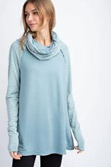 Chick's Cowl Neck Tunic