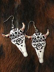 Tucson Steer Earrings