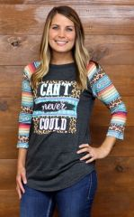 Can't Never Could 3/4 Raglan