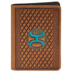 Hooey Money Clip Card Holder Turquoise