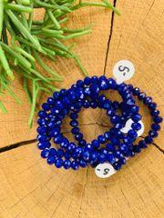 Cobalt Stretch Bracelet