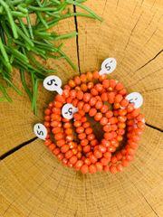 Tangerine Stretch Bracelet