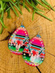 Bovine Bling Earring